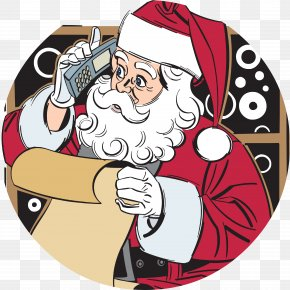 Haft Sin - Santa Claus Christmas Ded Moroz Snegurochka Clip Art PNG