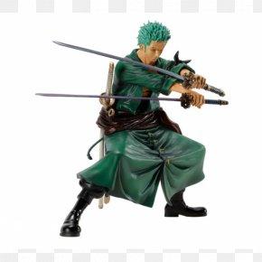 One Piece - Roronoa Zoro Figurine One Piece Model Figure Banpresto PNG