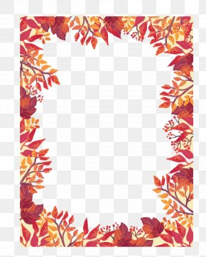 Autumn Promotional Posters - Poster Autumn PNG