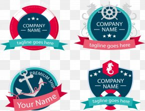 Shipping Company Logo Design - Logo Red Blue Company RGB Color Model PNG