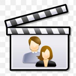 Silent Film Film Director Clapperboard PNG