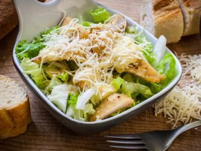 Salad - Caesar Salad Barbecue Chicken Stuffing Cherry Tomato PNG