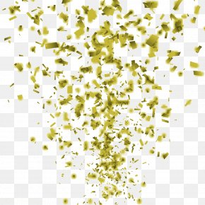 Fly Paper Gold Shredded Paper - Fly Paper Fly Clip Art PNG