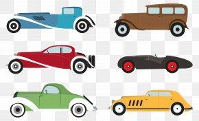 Classic Car Vector Color - Car Automotive Design PNG