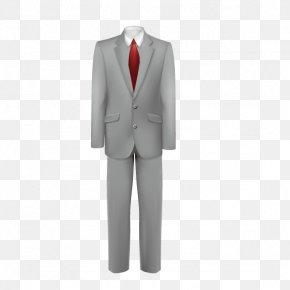 A Set Of Men's Suits - Tuxedo Necktie Suit Clothing PNG