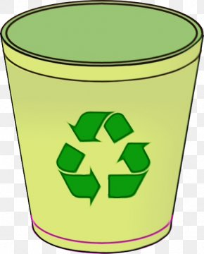 Recycling Recycling Bin - Green Clip Art Pint Glass Drinkware Symbol PNG