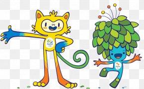Rio Olympic Mascots Combination - 2016 Summer Olympics 2020 Summer Olympics The London 2012 Summer Olympics 2016 Summer Paralympics Rio De Janeiro PNG