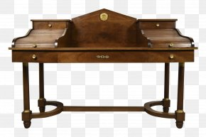 Table - First French Empire Desk French First Republic Empire Style Table PNG