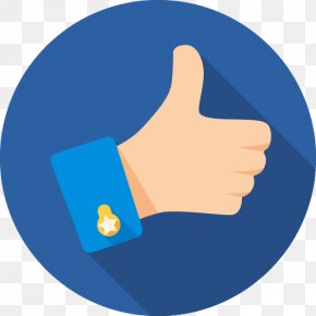 Erect Border - Thumb Signal Clip Art Like Button PNG