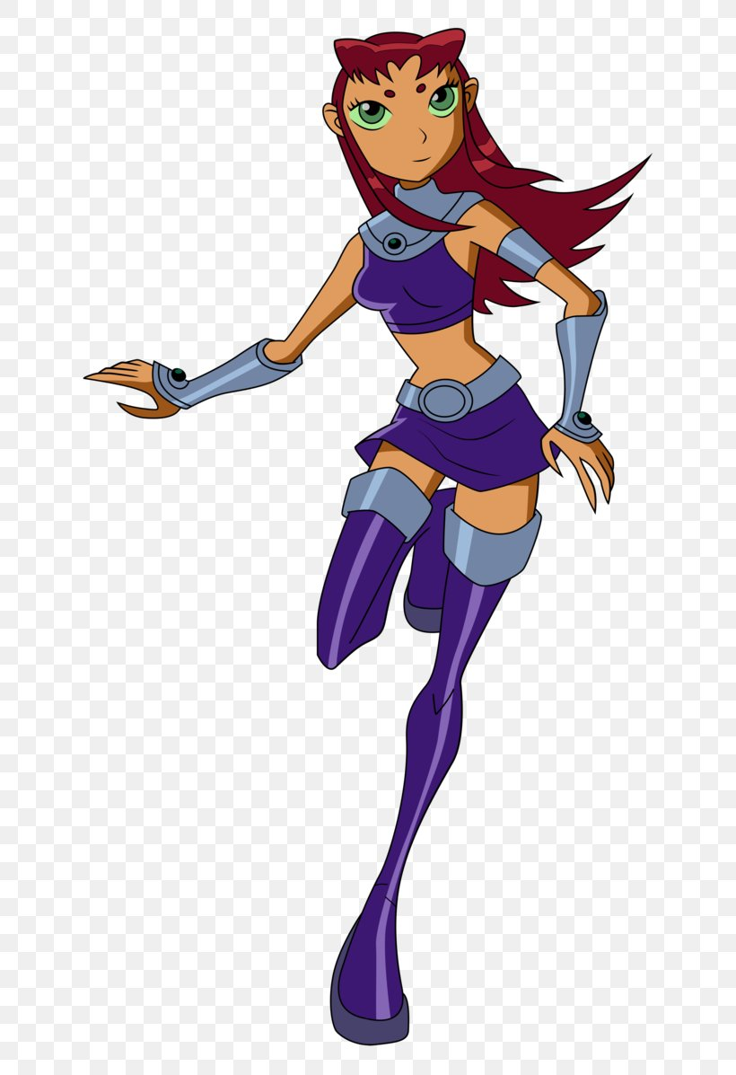 Starfire Raven Robin Teen Titans Drawing Png 668x1197px Watercolor Cartoon Flower Frame Heart Download Free