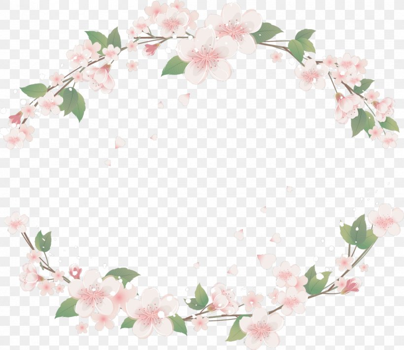 Clip Art Borders And Frames Floral Design Flower, PNG, 1249x1080px, Borders And Frames, Blossom, Branch, Cherry Blossom, Drawing Download Free