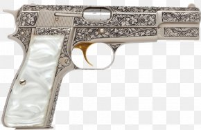 Handgun - Revolver Browning Hi-Power Firearm Trigger Browning Arms Company PNG