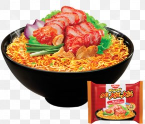 Char Siu Bao Dough - Chinese Cuisine Char Siu Instant Noodle Ramen Nissin Foods PNG