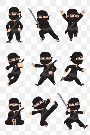 Cartoon Ninja Collection - Ninja Cartoon Stock Photography Illustration PNG