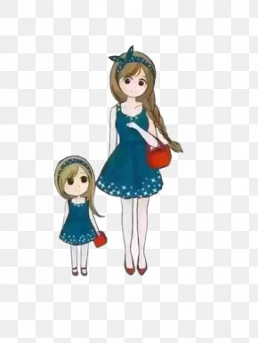 Mother Of Women Painted - Mother Daughter Woman Child PNG
