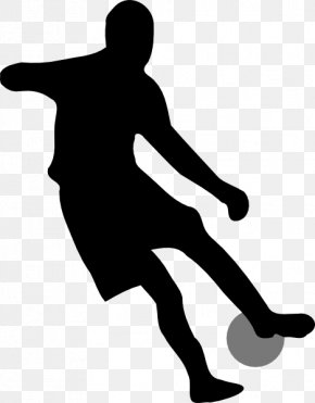 Animated Soccer Player - Football Player Silhouette Clip Art PNG