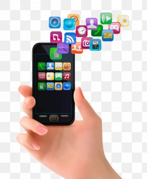 Smartphone - Smartphone Mobile App Application Software Icon PNG