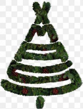 Creative Christmas Tree - Christmas Tree Santa Claus Clip Art PNG