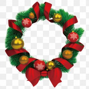 Christmas Wreath - Christmas Wreath Garland Stock Photography Clip Art PNG