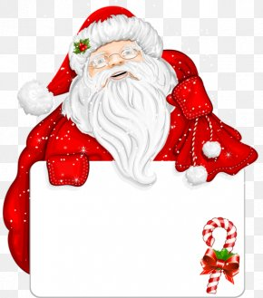 Santa Claus - Santa Claus Christmas Day Vector Graphics Borders And Frames PNG