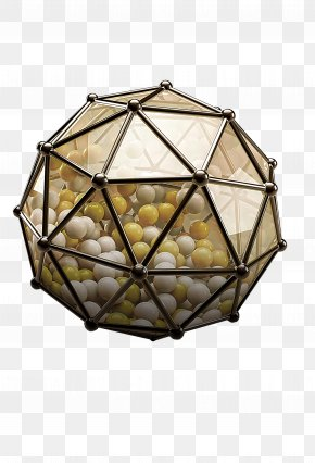 Three-dimensional Ball Material - Sphere Ball Three-dimensional Space Polyhedron PNG