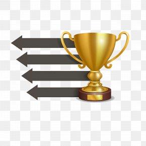 Trophy Ppt - Trophy Euclidean Vector Medal PNG