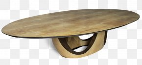 Coffee Table - Oval PNG
