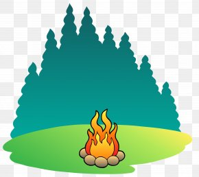 Forest Fire Vector Material - Camping Campsite Summer Camp Clip Art PNG