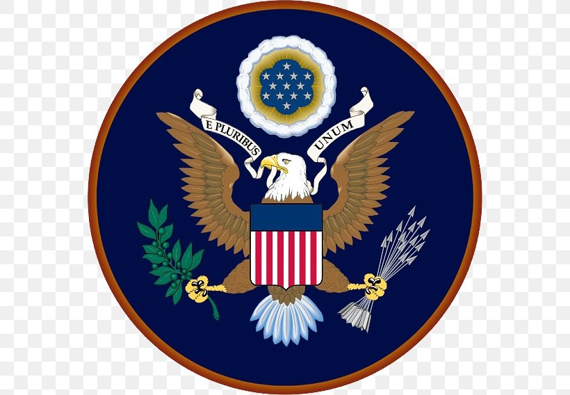 Federal Government Of The United States Embassy, PNG, 568x568px, National Counterterrorism Center, Badge, Counter Terrorism, Crest, Emblem Download Free