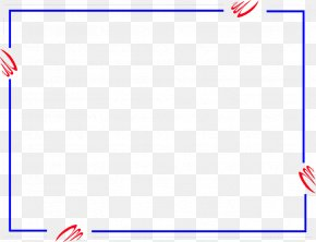Free Blue Borders And Frames - Game Brand Area Pattern PNG