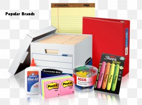 Office Supplies - Johnco Paper Box Office Supplies Furniture PNG
