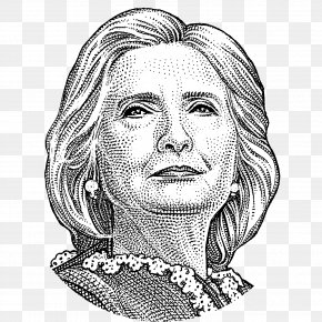 Bill Clinton - Hillary Clinton United States Drawing Republican Party Sketch PNG