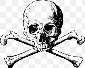 Skull And Bones Clipart - Skull And Crossbones Skull And Bones Society Human Skull Symbolism PNG