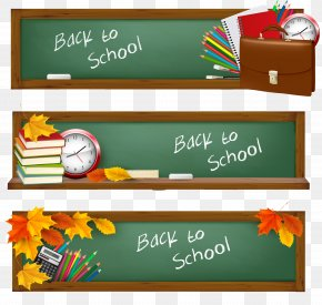 Blackboard - First Day Of School Royalty-free Illustration PNG