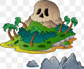 Strange Forest - Piracy Animation Clip Art PNG