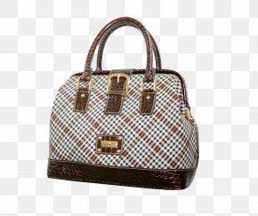 Diamond Checked Tote Bag - Tote Bag Travel Handbag PNG