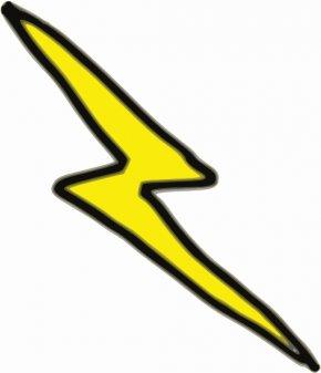 Lightning Flash - Harry Potter Lightning Drawing Clip Art PNG