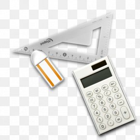 Mathematics Supplies - Calculator Stationery Tire PNG