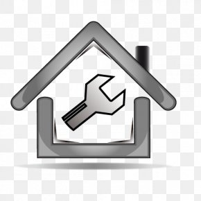 Vector Silver Housing Repair - Euclidean Vector Logo Real Property Illustration PNG