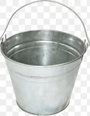 Iron Bucket Image - Bucket Clip Art PNG