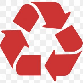 Recycle Red Icon - Recycling Symbol Logo Clip Art PNG
