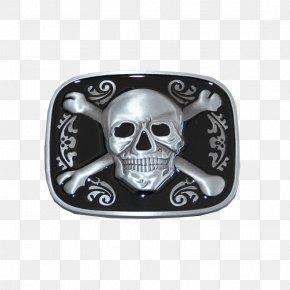 Skull - Skull And Crossbones Clothing Accessories Human Skull Belt Buckles PNG