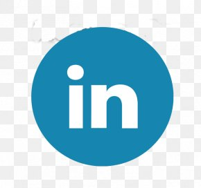 Social Media - LinkedIn Social Media Font Awesome Clip Art PNG
