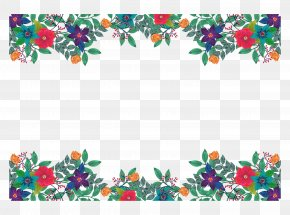European Oil Painting Style Spring Decoration Box - Flower Download PNG
