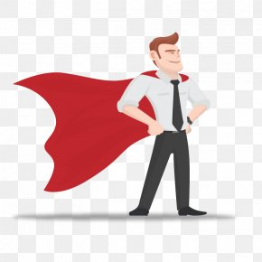 Vector Business Superman - Hero Fathers Day Son PNG