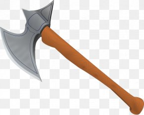 Transparent Axe Cliparts - Middle Ages Battle Axe Clip Art PNG