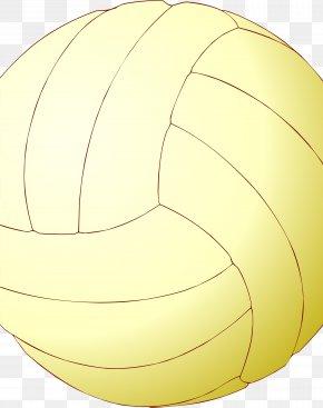Net Sports Yellow - Beach Ball PNG