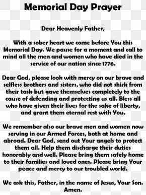 Happy Memorial Day - Memorial Day Poetry Armistice Day Veterans Day Essay PNG