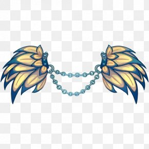 Necklace - Body Jewellery Necklace Feather Clip Art PNG