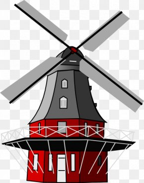 Windmill Pictures Images - Netherlands Cross Mill Windmill Clip Art PNG